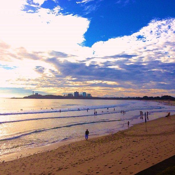 Mooloolaba Beach in Mooloolaba, QLD