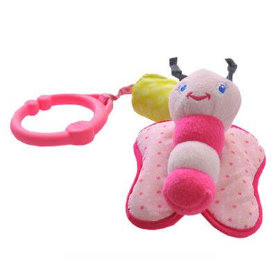 #Baby #Stroller Plush Rattles Pendant Crib #Toys #HangingBell This little #cutetoy have #Freshcolor to attract kid's attention to #enjoy the fun of playing.#Lovely #cartoondesignmodel, funny and interesting for #babys. #baby #beautifulbaby #cutie #kids #babylove #fashions #kidsfashion #babyproducts #birthdaypresent #animal #giftboxes  #luxurylifestyle #colourful