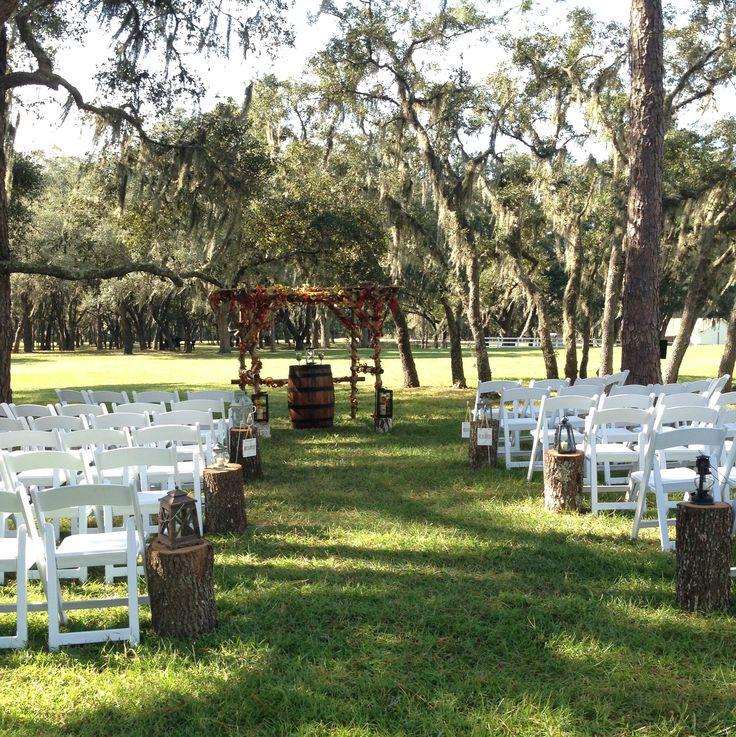 Wedding ceremony at Stonebridge Weddings & Events