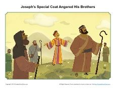 8 Best Joseph S Coat Of Many Colors Bible Activities Images On Joseph Coat Of Many Colors Activity