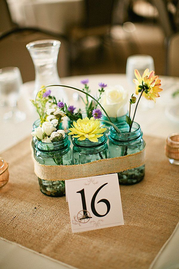 Could we find time to pick wild flowers to decorate with? (Free and would look pretty)