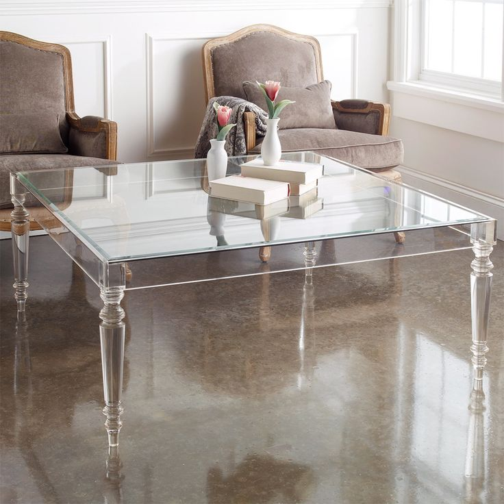 Low Plastic Coffee Table: Best 25+ Acrylic Coffee Tables Ideas On Pinterest