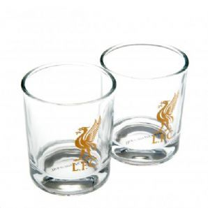 Liverpool Whiskey Glass Set (Pack of 2) | Liverpool FC Shop