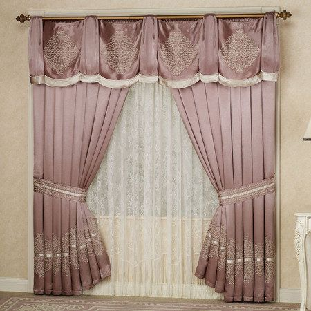 26 best curtains images on Pinterest | Curtain designs, Living ...