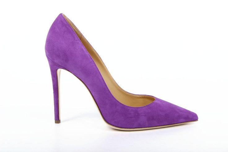 Versace 19.69 Abbigliamento Sportivo Milano ladies pump 27903 CAMOSCIO VIOLA