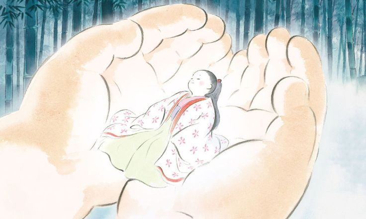 4. The Tale of The Princess Kaguya | The 14 Greatest Movies Of 2014