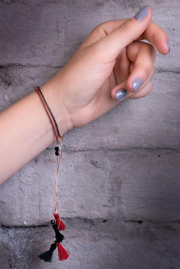 Emi La jewelry. Soft bracelets