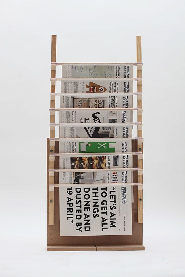 Good A Newspaper Stand As Part Of A Final Year BA (Hons) Design Communication  Project