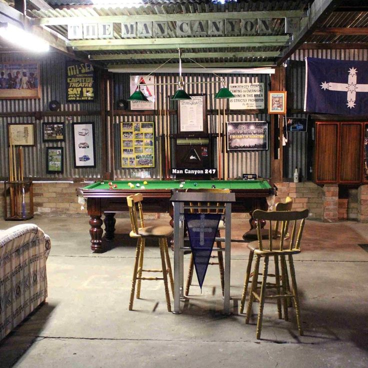 How To Create The Ultimate Man Cave: Best 25+ Basement Man Caves Ideas On Pinterest