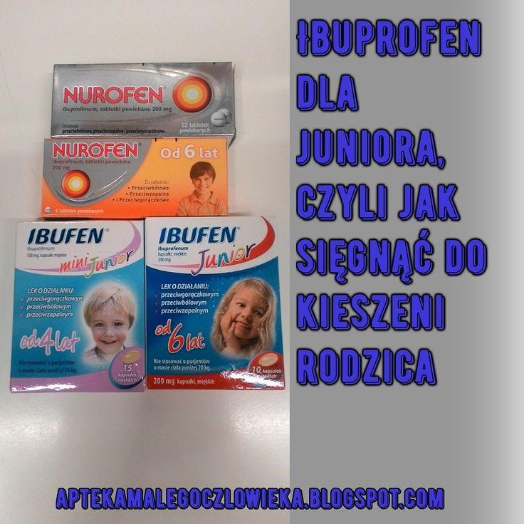 #aptekamalegoczlowieka #zdrowie #kids #ibuporofen