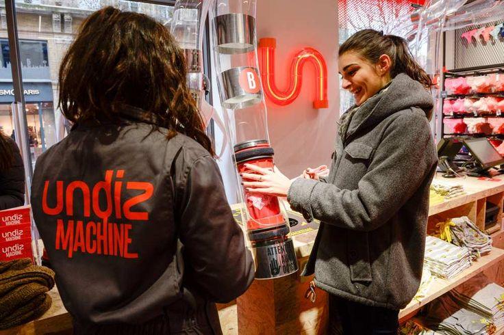 Undiz («undies», sous vêtements en anglais) continue de bousculer le marché de la lingerie. La marque lancée en 2007 par le groupe Etam...