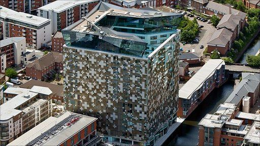 The Cube, Birmingham genuinely has some iconic modern architecture now.