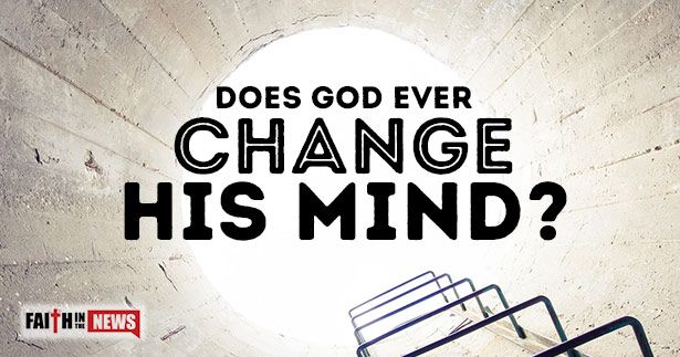 Does God Ever Change His Mind ~ Does God ever change His mind? What Scriptures do some use to say He does? ~ Anthropomorphic Language ~ God uses language in the Bible that we will understand. God has to condescend in His Word in ways that we humans can understand because God is infinite. Our minds are finite, and we cannot wrap our tiny little minds around the God Who is limitless. [...]