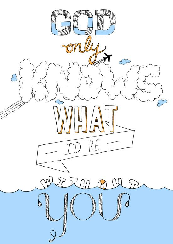 Beach Boys Lyrics Typography design inspiration