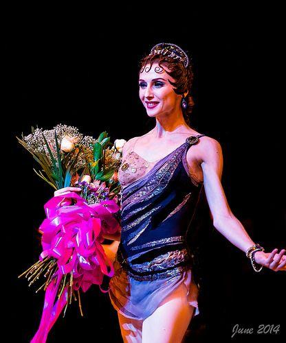 "<<Svetlana Zakharova after performance Bolshoi´s ""Spartacus"">>"