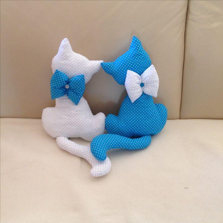 Gatos en tela