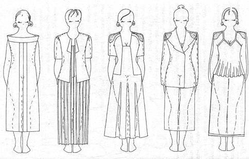 Полная комплекция.Чтобы полнота не так бросалась в глаза, носите одежду из плотных тканей полуприлегающего силуэта, используйте крупные детали – шарфы, воротники, бижутерию. Противопоказаны прилегающий трикотаж, тонкие, прозрачные ткани, широкие пояса, короткие обтягивающие рукава. Нежелательны яркие ткани с крупным орнаментом, зрительно стройнят темно-зеленый и цвет морской волны.