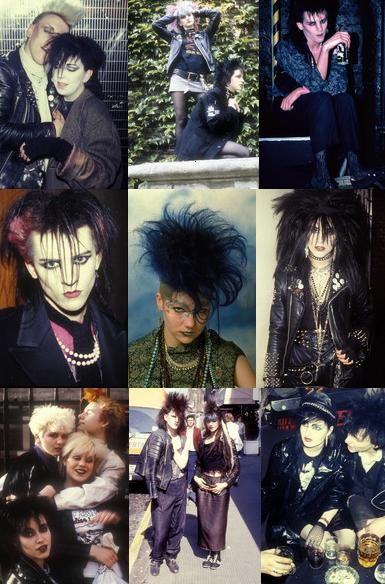 Goth Aesthetics +†+ #photo #montage #old #school #goth #gothic #subculture #street #fashion #dark  #aesthetics #death #rock #deathrock #post #punk #darksiders #big #hair #1970s #1980s