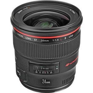 Uma objectiva de grande angular com alto desempenho, a rápida abertura de f/1.4 da EF 24mm f/1.4L II e a combinação de elementos de objectiva asférica e UD garantem uma óptima qualidade de imagem profissional.