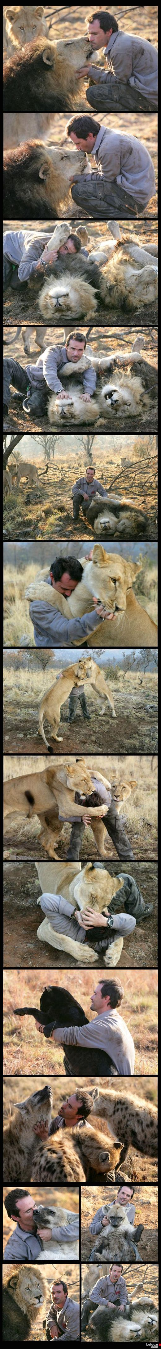 The Lion Whisperer South Africa - this is amazing, wish i could do this