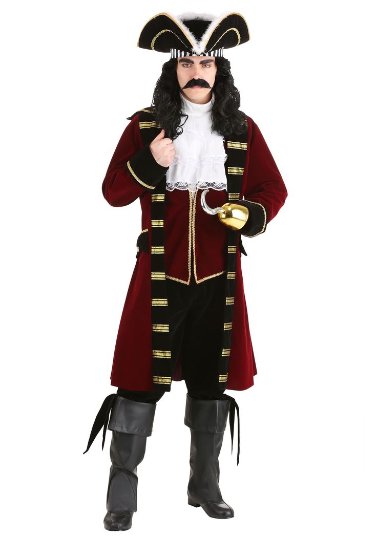 Pirate Costume Diy Boy Captain Hook