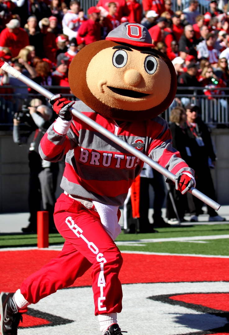Brutus Buckeye - Taken by a friend of mine at the IU v OSU game in Cols OH