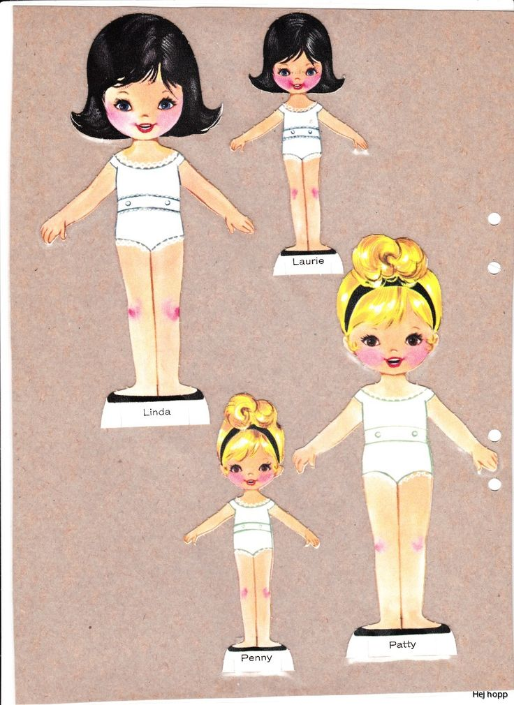 4 dolls* The International Paper Doll Society Arielle Gabriel artist #QuanYin5 Twitter, Linked In QuanYin5 *