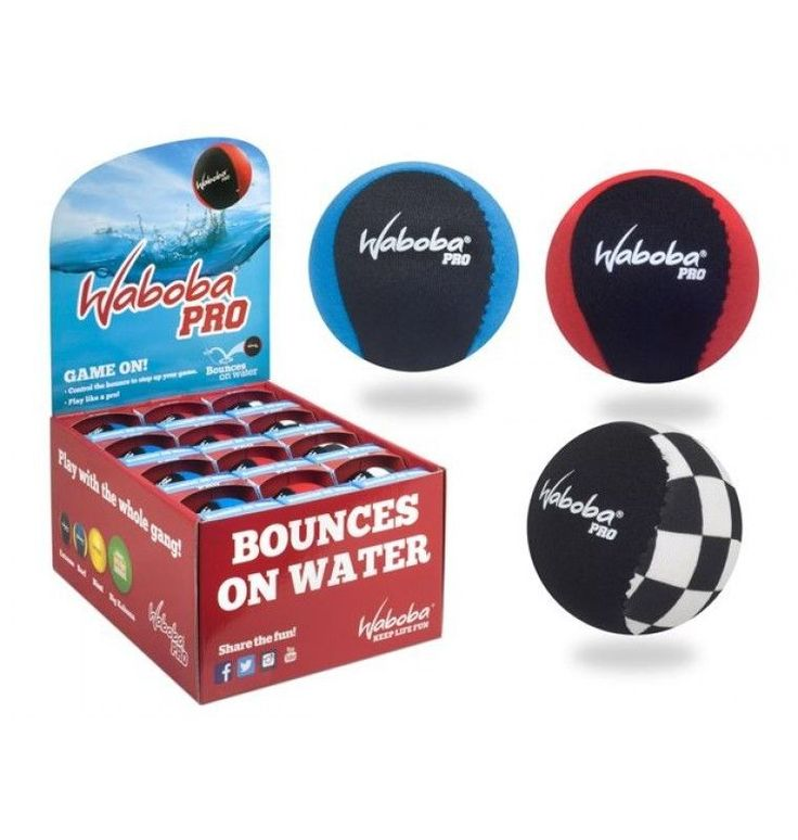 WABOBA PRO BALL SUPER BOUNCY-CRAZY SPIN for Outdoor Water Games #WABOBA