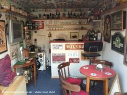 Daves's bar, Pub Shed shed from Garden | Readersheds.co.uk