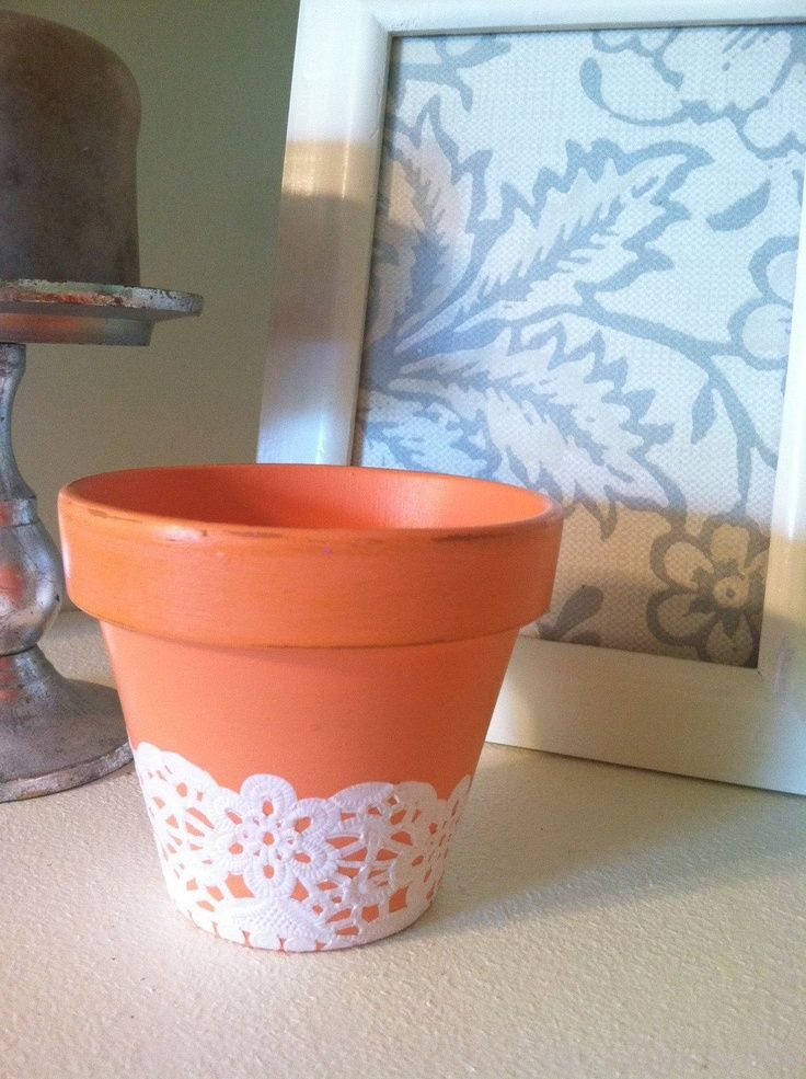 10 images about projects to try on pinterest homemade for Small clay pots