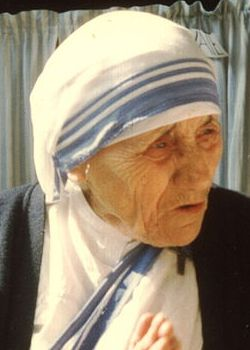 Mother Teresa - Through her organization 'Missionary of Charities' in India, she provided love, food and shelter to the sick and poor for 45 years. She also received the Nobel Peace Prize.