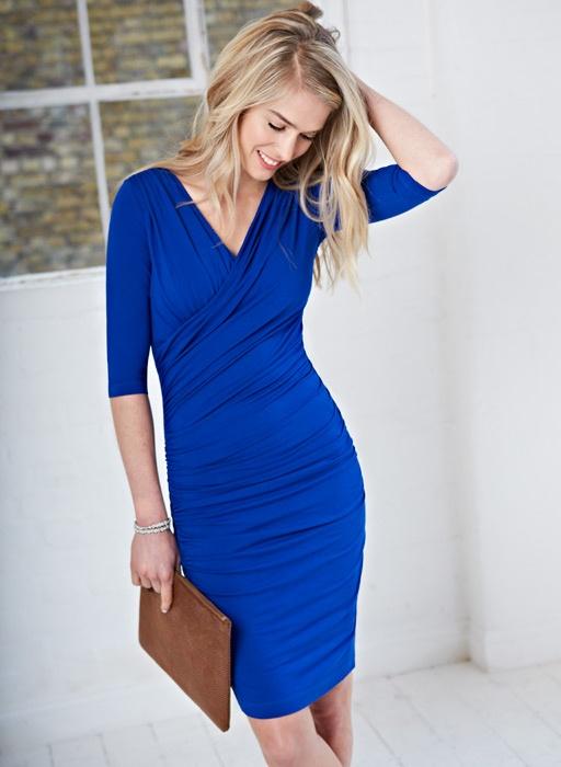 Jersey Drape Dress | Womenswear | Dresses | Baukjen