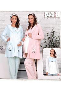 Baha 2615 Hamile Pijama Takımı