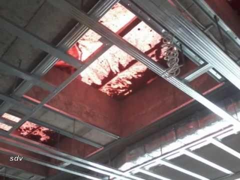 Οροφή διάτριτης γυψοσανίδας 1