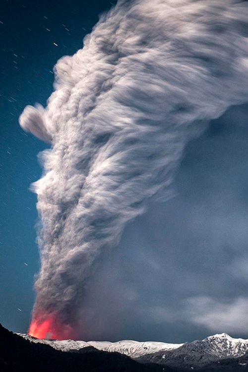 plasmatics-life:  Volcán… ~ By Francisco Negroni