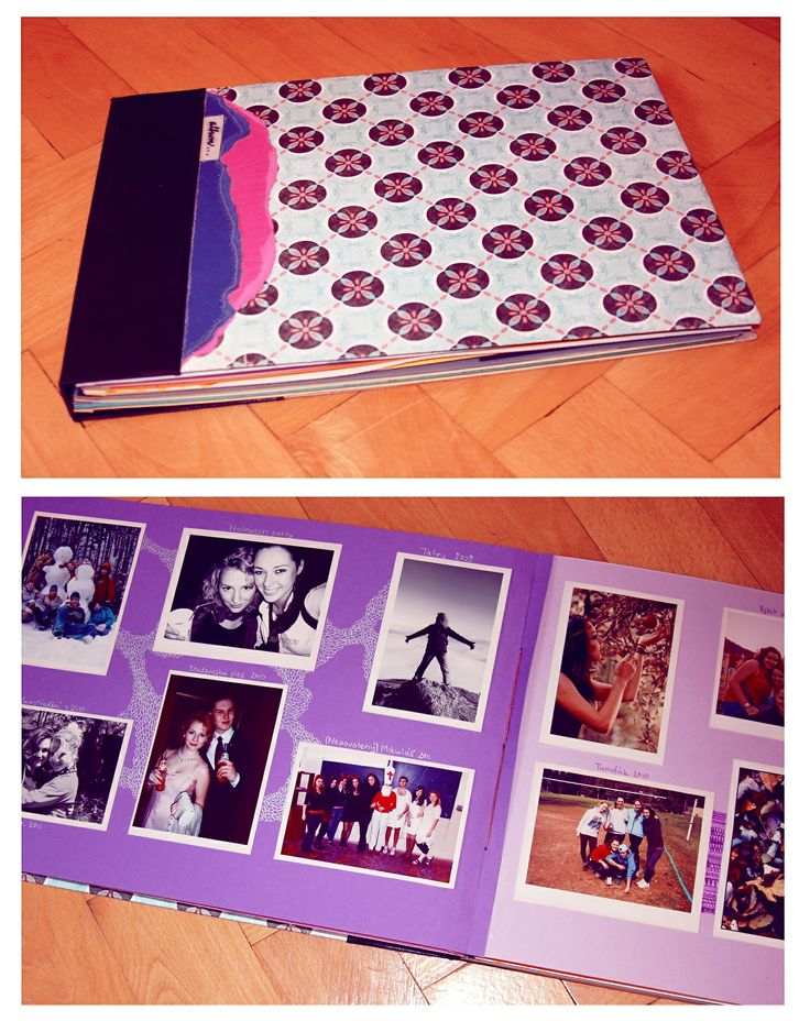 My first photo album, stitched (need to improve the binding and strenghten the cover) /DIY/
