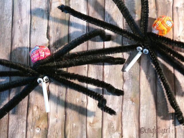 knightlyart - Made in Hamburg: Halloween und Arachnophobie!