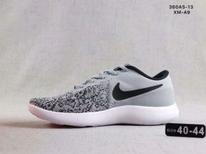 581938a28bcf Nike Epic React Flyknit Grey White Black Mens Running Shoes