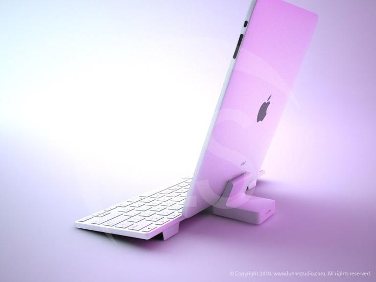 iPad 3D model.