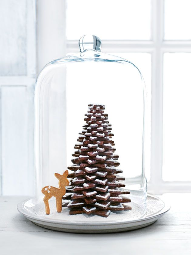 Chocolate Cookie Christmas Tree | Donna Hay