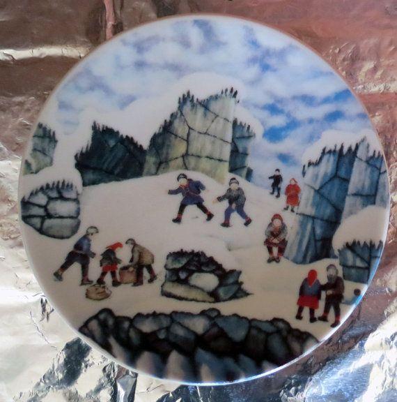 Arabia of Finland, Alariesto , wall plate