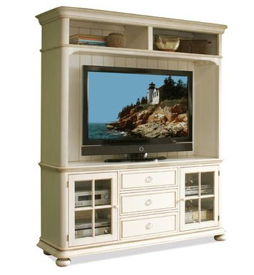 "Placid Cove 69"" TV Console and Hutch 
