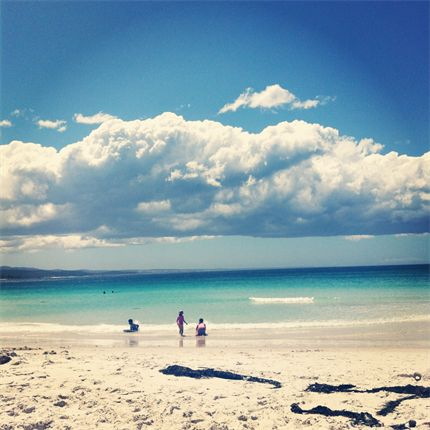 It's been a long time since we've been to #BinalongBay in Tasmania, from Nicole H. #JWsnapshot