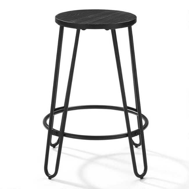 Featuring Industrial Style Hairpin Legs In Black Steel With Rustic