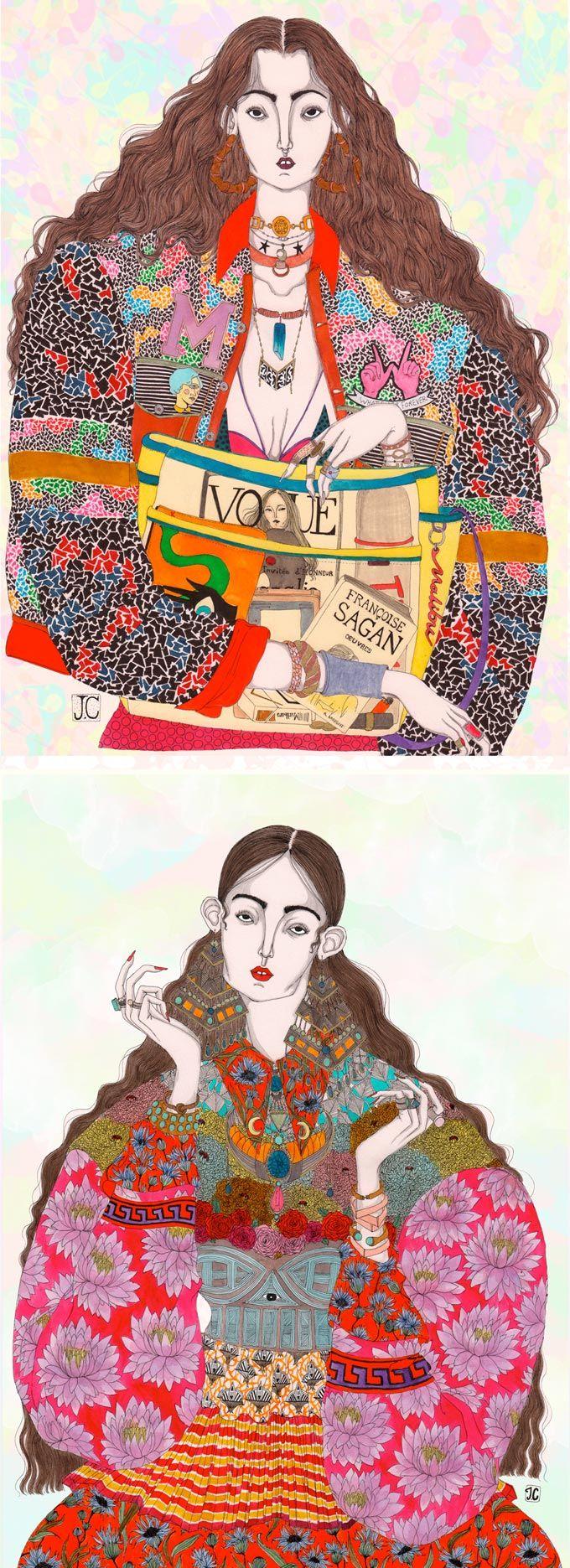 Illustrations by Jérémy Combot