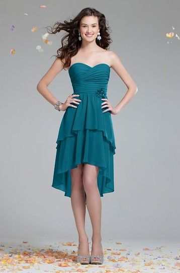 51 best Bridesmaids images on Pinterest | Short wedding gowns ...