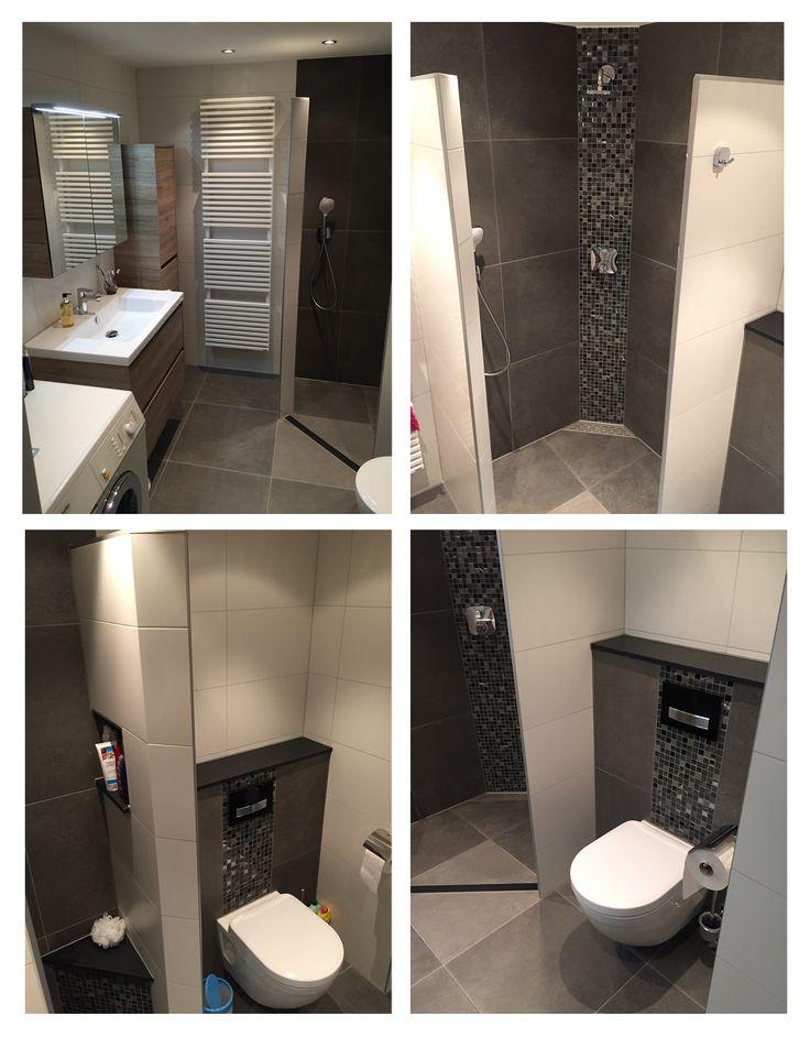 Ook deze #badkamer zorgde weer voor blije gezichten. Ook toe aan een mooie nieuwe badkamer? #Purmerend #Volendam http://tuijpkeukenenbad.nl/badkamers/badkamer-projecten