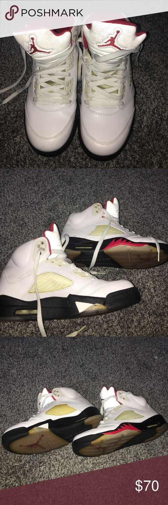‼️Nike Retro 5 Air Jordan's 😍😍😍 Great Shoe! Jordan's after all. What more is there to say! 😍😍😍 Nike Shoes Sneakers