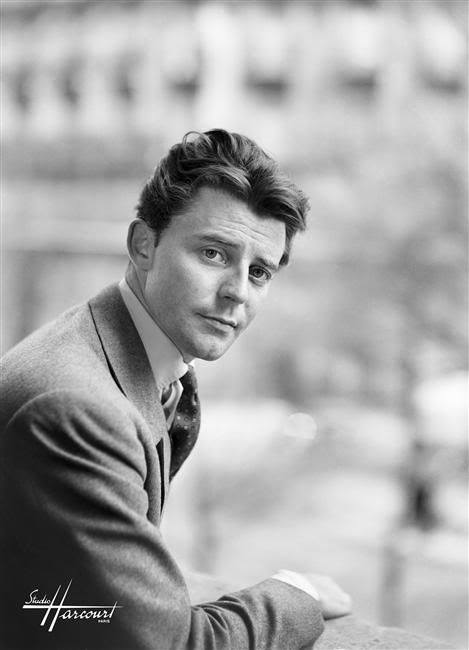 Gérard Philipe by Studio Harcourt