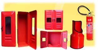 Caixas para extintores de incêndio